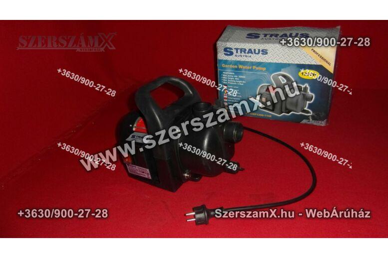Straus ST/GWP1200-1188 Kerti Szivattyú 1200W