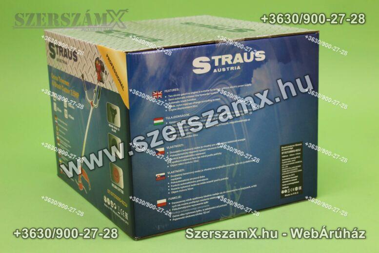 Straus GT2500-023J Benzines Fűkasza 3,5LE 52ccm