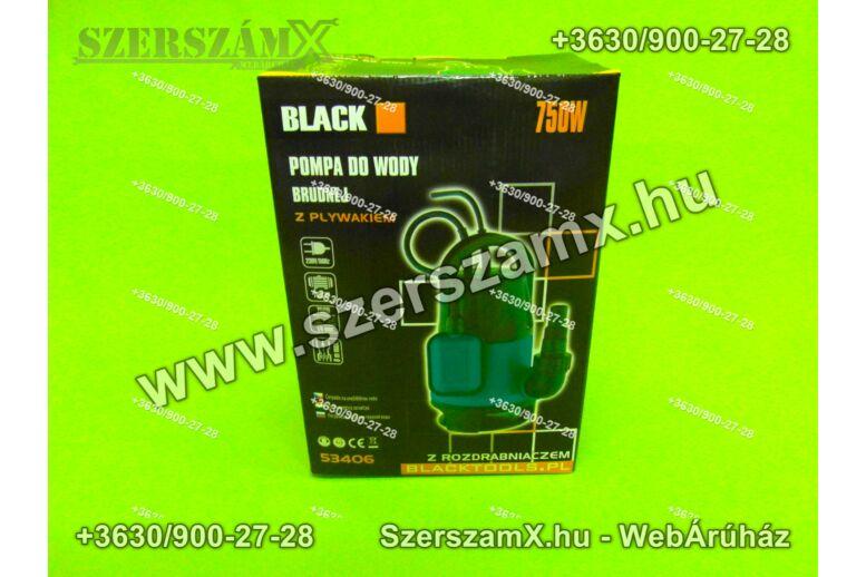 Black BL53406 Szennyvíz Szivattyú 750W