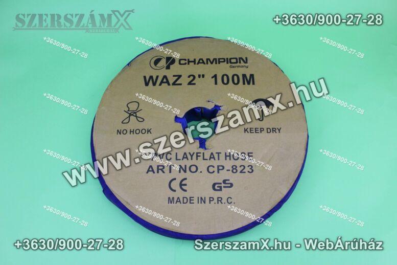 Champion CP-823 100m Gumi Tömlő 2coll