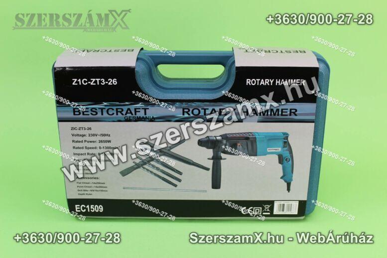 KraftDele EC1509 Fúrókalapács 2650W SDS+