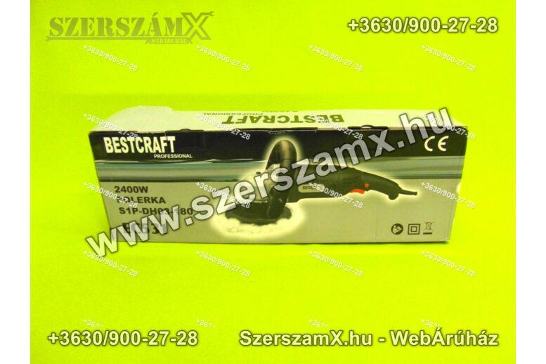 BestCraft EC531 Autó Polírozó 180mm 1200W
