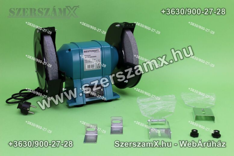 BestCraft EC533 Kettös Köszörű 1000W 200mm