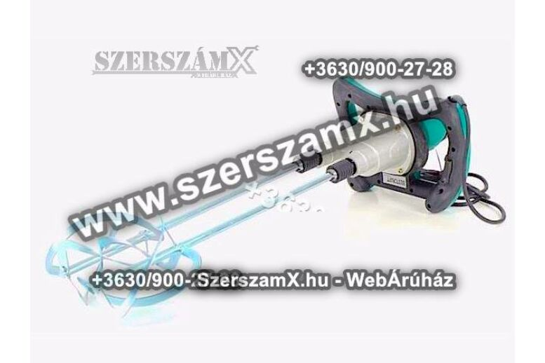 BestCraft EC542 Festékkeverő 1600W 2sebesség 2-száras