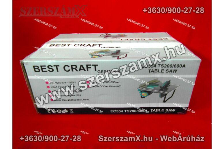 BestCraft EC554 Asztali Körfűrész 1500W 200mm