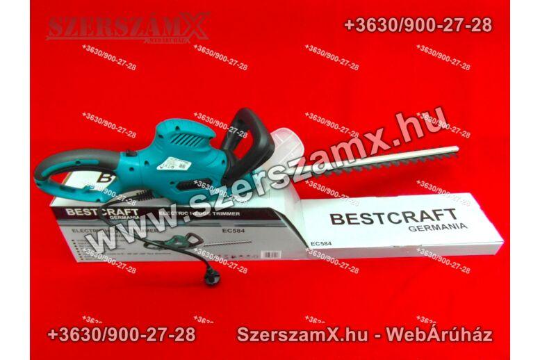 BestCraft EC584 Elektromos Sövényvágó 1600W