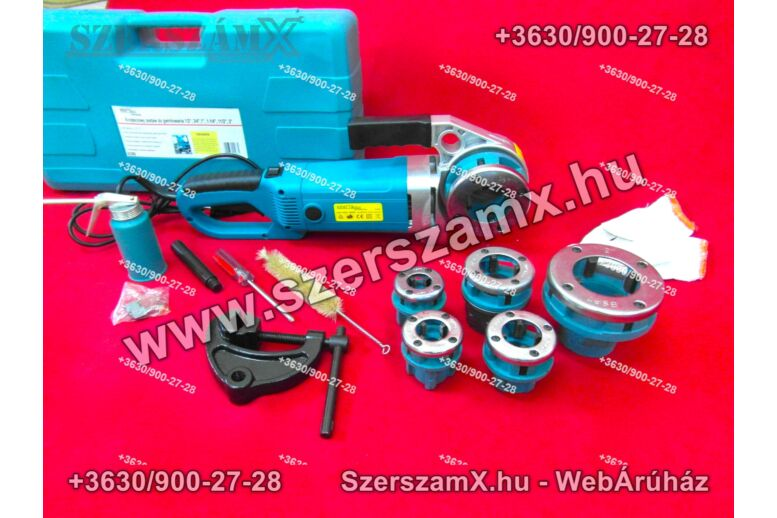KraftDele EC592 elektromos Csőmenetmetsző 1800W