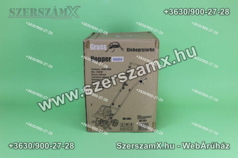 GrassHopper GB-1401 Elektromos Kapálógép 1400W
