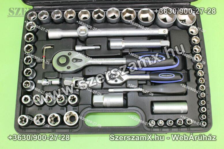 SKraftSW108-CV Krova Dúgokulcs készlet 108részes