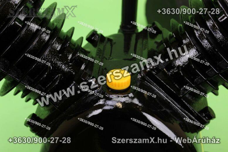 KraftDele KD1403 2-Hengeres Kompresszor 2x80mm
