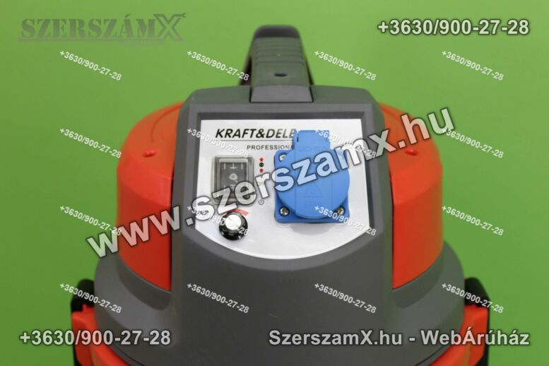 KraftDele KD486 Ipari Porszívó 1400W 38L