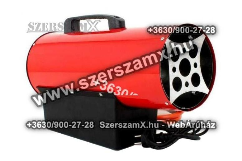 KraftDele KD706 PB-gázos Hölégfúvó 10kW