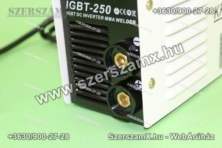 KraftDele KD843 Inverteres Hegesztő 250A