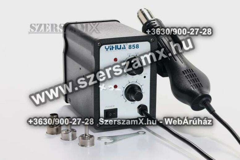 Yihua SMD Forrólevegős Forrasztóállómás 650W YH858