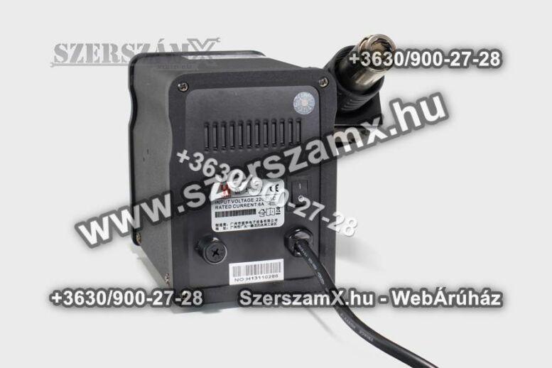 Yihua Digitális Forrasztóállómás 2 funkciós 700W YH898D