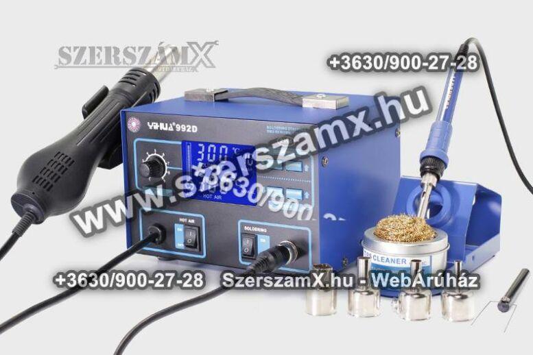 Yihua LCD Digitális Forrasztóállómás 2 funkciós 720W YH992D