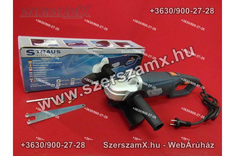 Straus ST/AG 230-177 Sarokcsiszoló 230mm 2500W