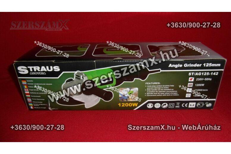 Straus ST/AG125-142 Sarokcsiszoló 125mm 1200W