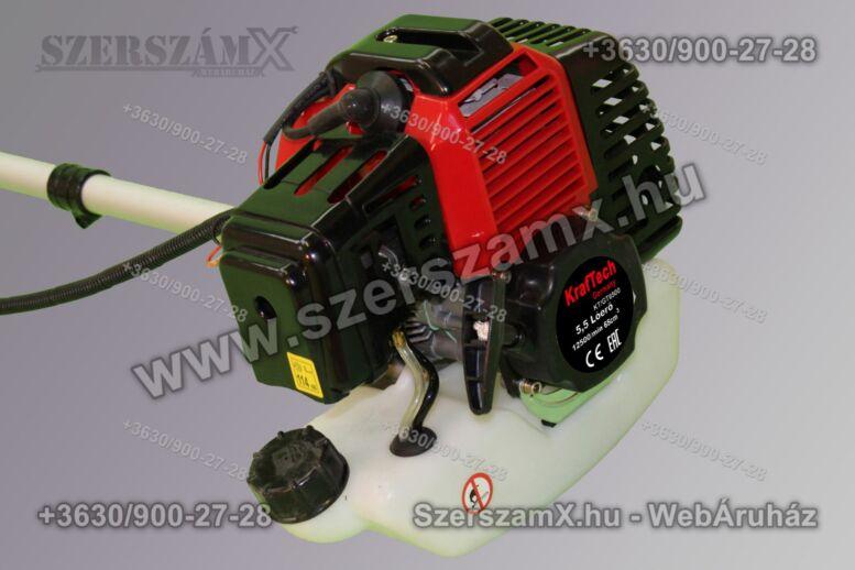 KrafTech KTGT6500 Benzines Fűkasza 3, 5Lóerős 52ccm